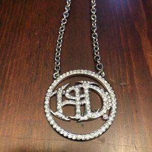 Harley Davidson Crystal Pendant Necklace MOD